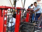 Disperindag Kabupaten Tera Ulang Timbangan Para Pegadang di Seluruh Kecamatan