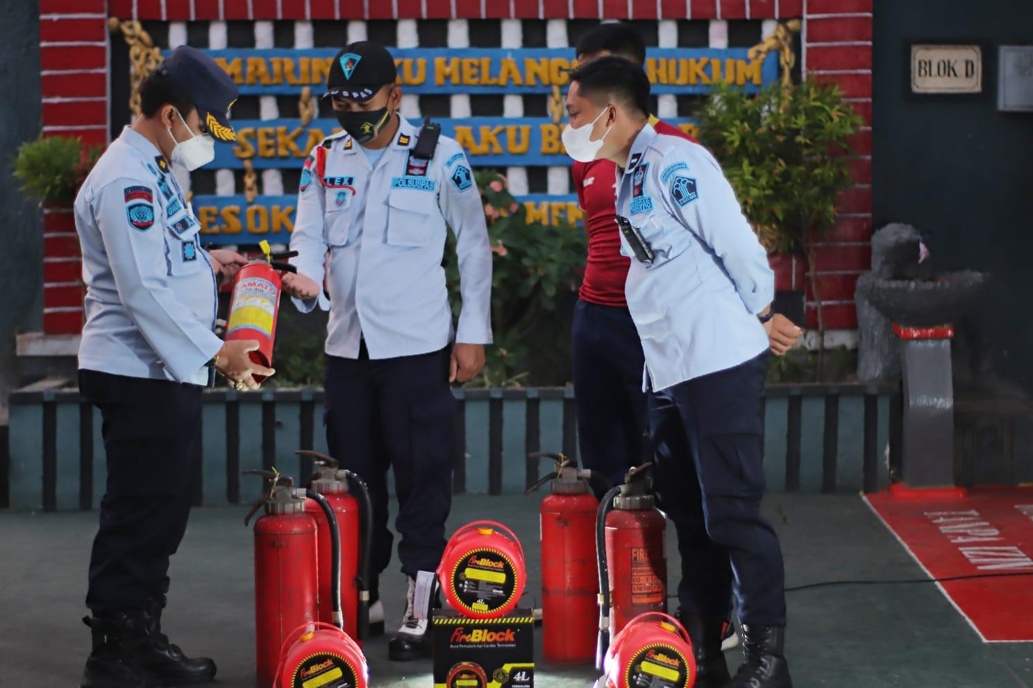 Antisipasi Bencana Kebakaran Ini Langkah Cepat Lapas Kediri
