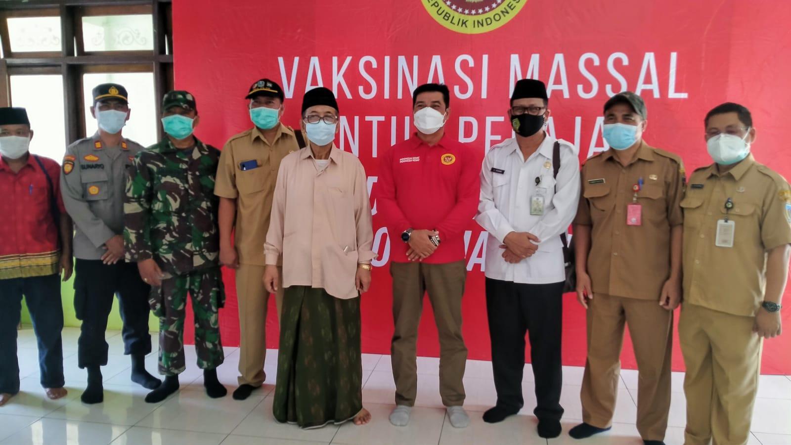 BINDa Jatim Gelar Vaksinasi Massal di Ponpes Al Ihsan Jampes Kediri