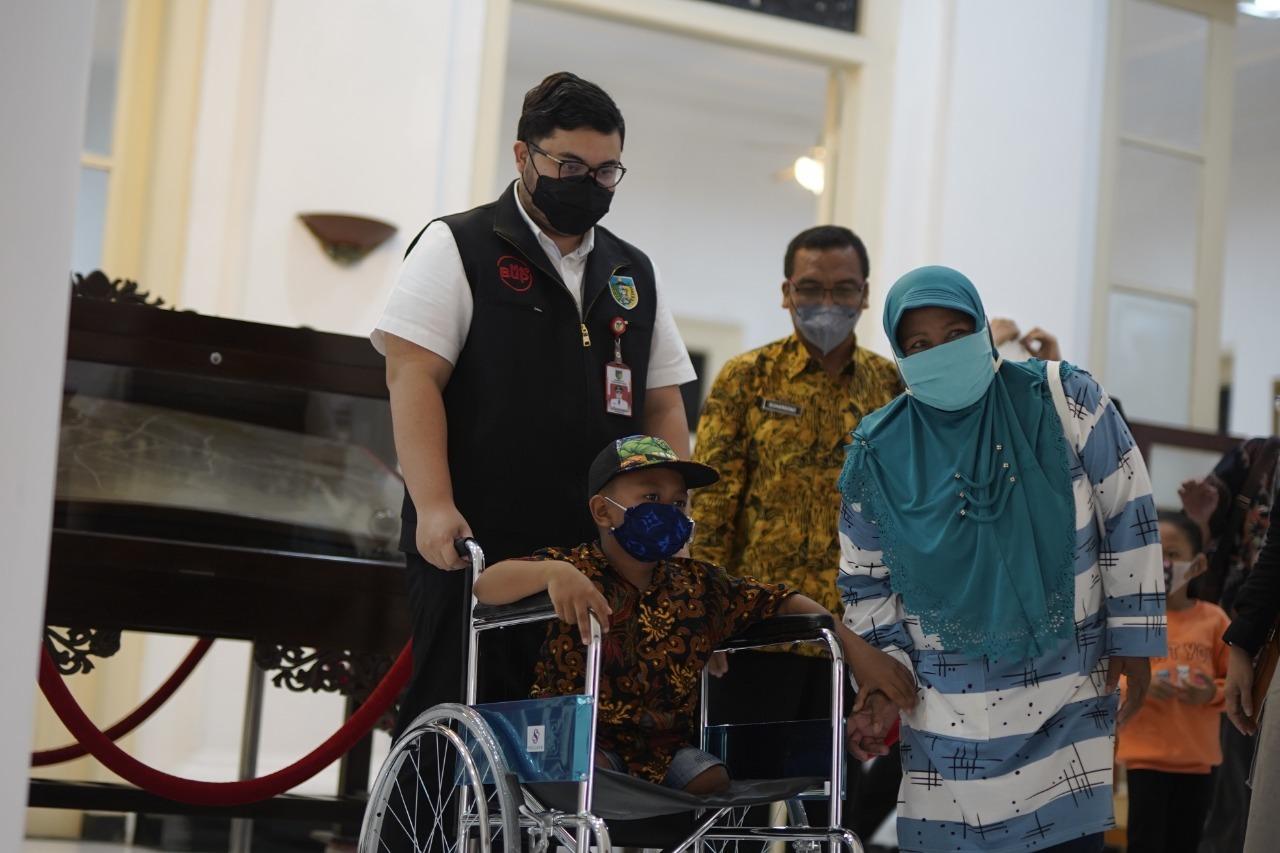Puluhan Penyandang Disabilitas di Kab Kediri Diberi ABM