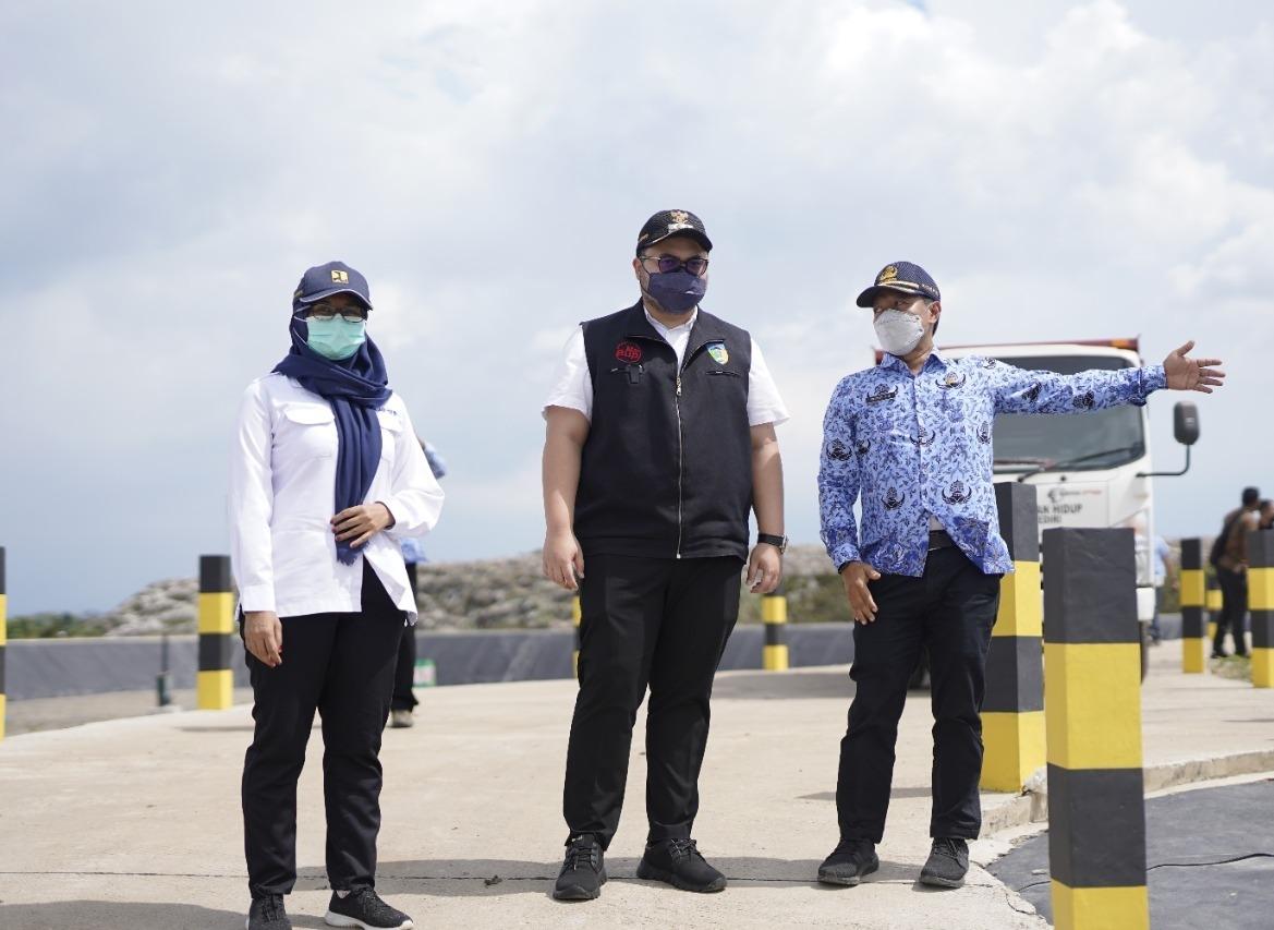 Atasi Overload Sampah, Bupati Kediri Resmikan TPAS Sekoto