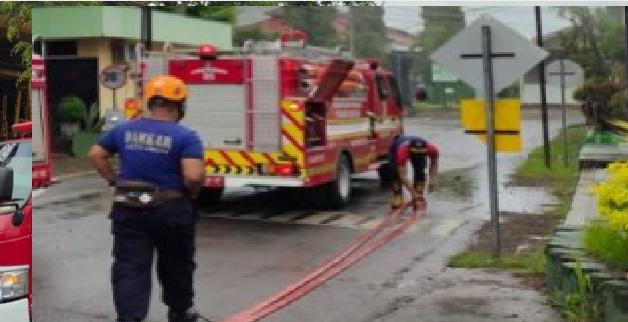 Kapolsek Patianrowo AKP Joni Suprapto, membanarkan kejadian terbakarnya sebagian unit perkantoran di kompleks PG Pabrik Gula Lestari di Desa Patianrowo Kecamatan Patianrowo Kabupaten Nganjuk