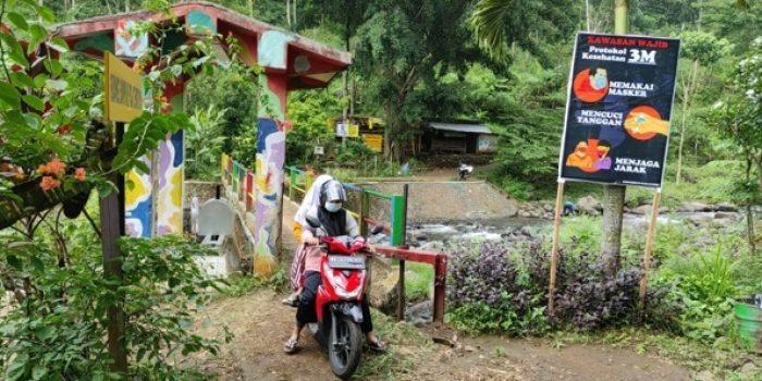 dinas pariwisata kabupaten kediri uji coba pembukaan wisata sumber podang kediri
